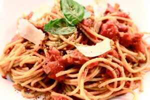 spaghetti amatriciana 2